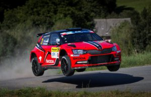 Jan Kopecký/Pavel Dresler won the Barum Czech Rally Zlin