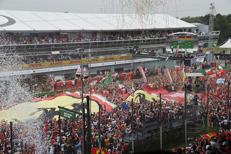 Italian Grand prix,atmosphere,tifosi