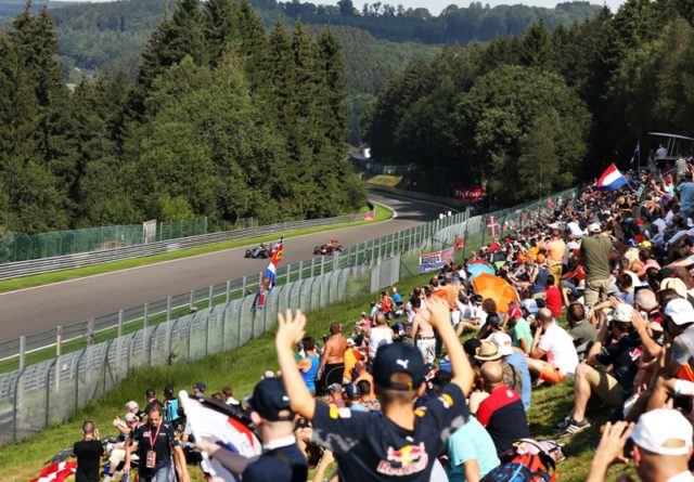 Spa,Belgium,F1,fans,Liberty Media
