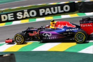 Daniil Kvyat (RUS) Red Bull Racing RB11 - Round 18 at Autodromo Jose Carlos Pace, Sao Paulo, Brazil, Saturday 14th November 2015 +++ Photo: RACE-PRESS