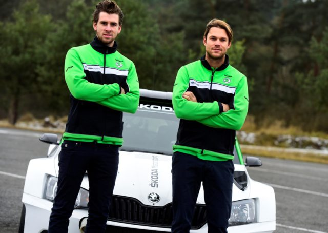 Anders Jæger and Andreas Mikkelsen