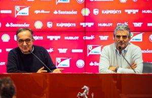 Sergio Marchionne,Maurizio Arrivabene