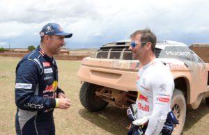 Stéphane Peterhansel and Sébastien Loeb