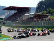 Belgian Grand prix, start, F1, FIA