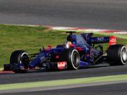 Carlos Sainz, F1 test