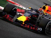 Max Verstappen, F1 test