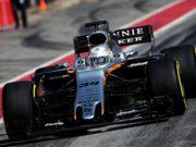 Alfonso Celis, F1 test