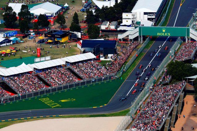 Australian Grand prix, Albert park, start, overtaking