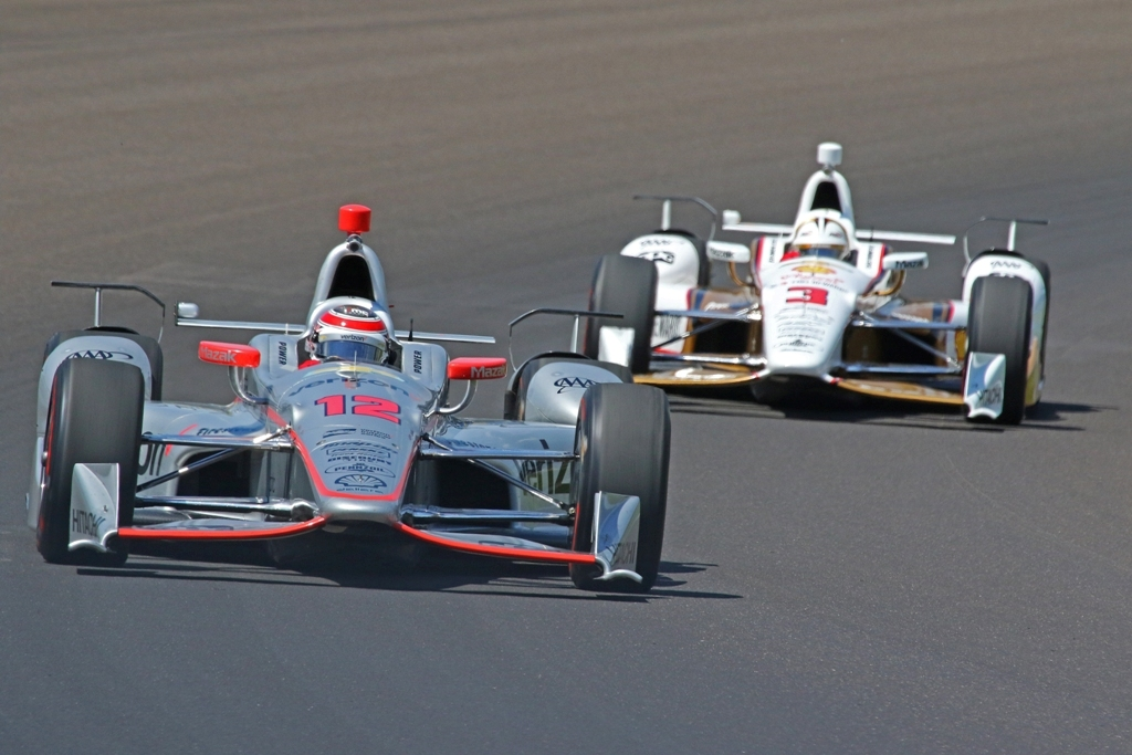 Team Penske Duo Tops Chart On Second Day Of Indianapolis