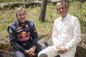 Carlos Sainz, Luis Moya