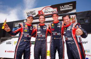 Hyundai, Dani Sordo, Nicolas Gilsoul, Thierry Neuville, Marc Martí