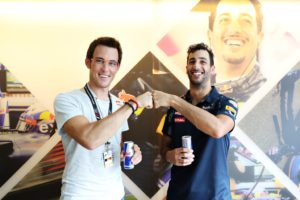 Thierry Neuville, Daniel Ricciardo