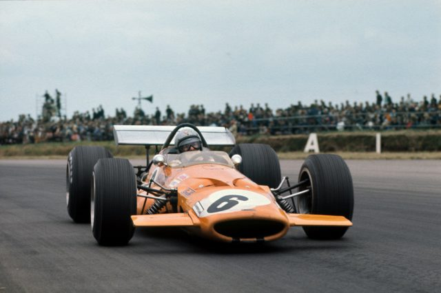 Bruce McLaren, 1969 British Grand Prix