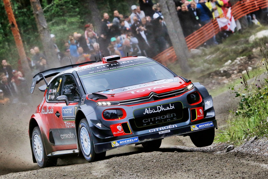 Meeke fastest in Rally Finland shakedown - News for Speed