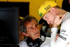 Nico Hulkenberg, Alain Prost