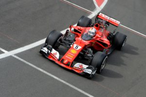 Sebastian Vettel, shield