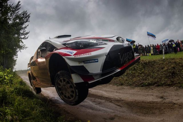 Toyota, Juho Hanninen, Kaj Lindstrom