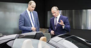 Duke of Cambridge, McLaren Automotive