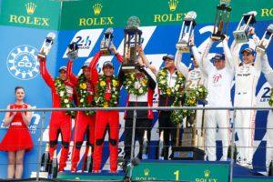 Porsche, Timo Bernhard, Brendon Hartley, Mark Webber, Fritz Enzinger, Nico Hulkenberg, Nick Tandy, Earl Bamber