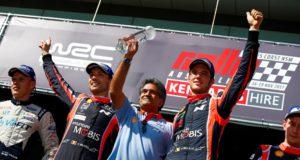 Thierry Neuville, Nicolas Gilsoul, Michel Nandan, Hyundai