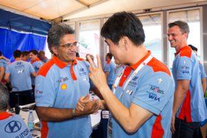 Gyoo-Heon Choi, Hyundai Motorsport, Michel Nandan