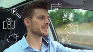 Bosch, voice assistant, car, driving