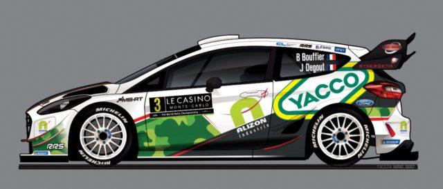 Bryan Bouffier, M-Sport car