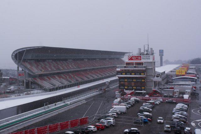 F1, snow, Catalunya