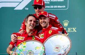 Sebastian Vettel, Kimi Raikkonen