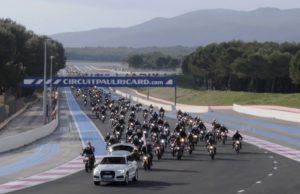 Ducati Monster parade