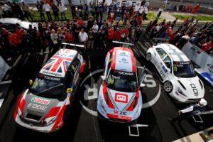 podium Morocco WTCR