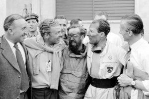 Mille Miglia, Ludwig Kraus, Rudolf Uhlenhaut, Denis Jenkinson, Stirling Moss, Hans Scherenberg