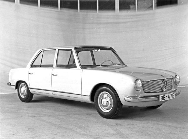 Mercedes Prototype W 119, 1962