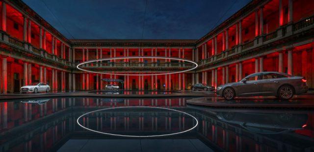 Audi, Fifth Ring, Milan Design Week