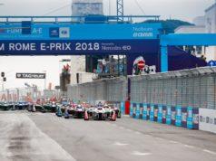 Felix Rosenqvist, Mahindra Racing, Sam Bird, DS Virgin Racing, Mitch Evans, Panasonic Jaguar Racing
