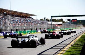 Albert Park, Melbourne, Australia, F1, start