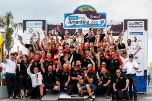 Rally Argentina, Ott Tanak, Toyota