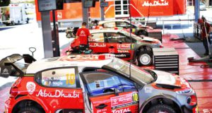 Citroen, garage, pit, box