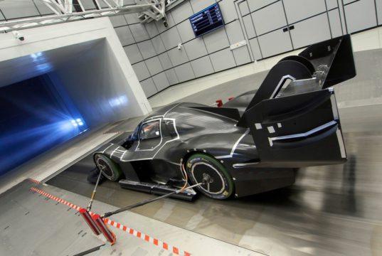 Volkswagen I.D. R Pikes Peak, aero tunnel