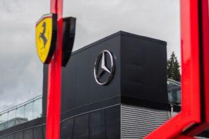 Ferrari, Mercedes