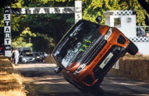 Terry Grant, Range Rover Sport SVR