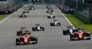 the Ferrari drivers criticized Max Verstappen after the Belgian Grand prix