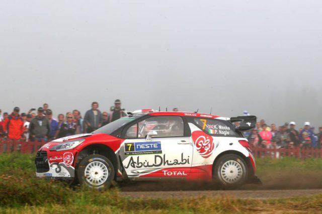 Kris Meeke, Tour de Corse, Finland