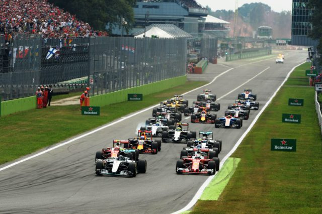 Nico Rosberg,start,Italian Grand prix