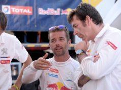 Sebastien Loeb and Bruno Famin