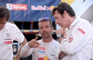 Sebastien Loeb and Bruno Famin
