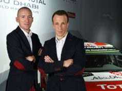 Paul Nagle and Kris Meeke