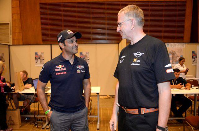 Nasser Al-Attiyah and Sven Quandt
