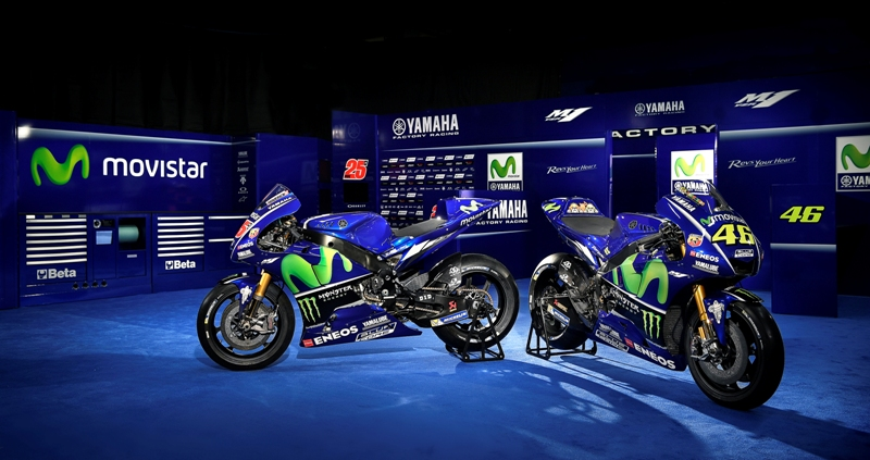 Yamaha Motogp Team Unveils 2017 Line Up News For Speed