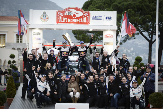 M-Sport, Rally Monte Carlo